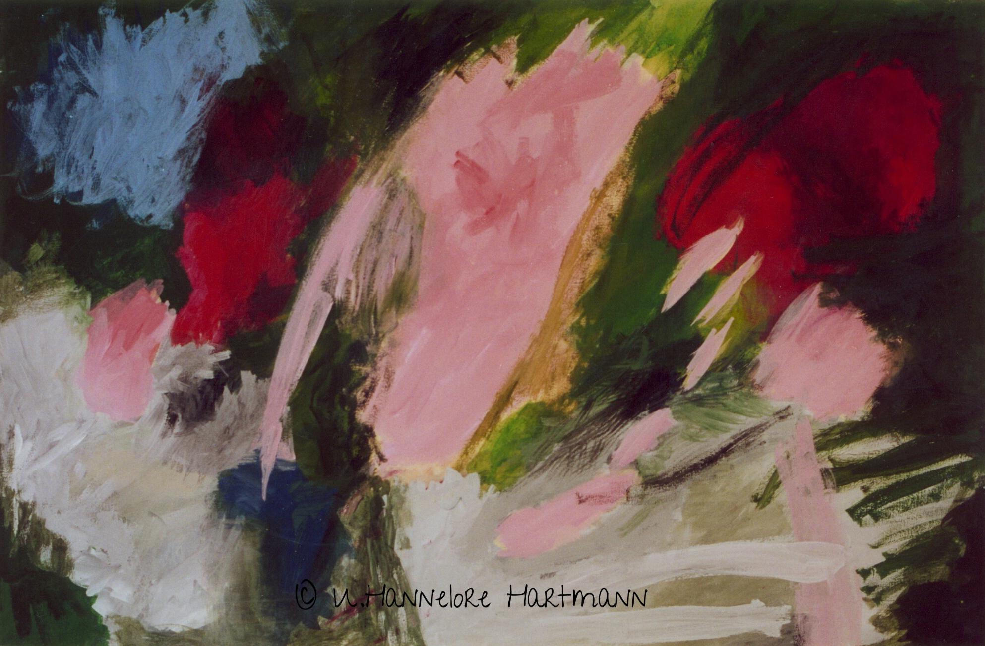 """""""Ohne Titel"""", Acryl, Pigmente auf Nessel, 80 x 120, mit Schattenfugenleiste"""