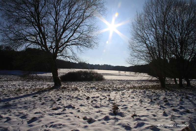 Winterlandschaft bei Rotenhain
