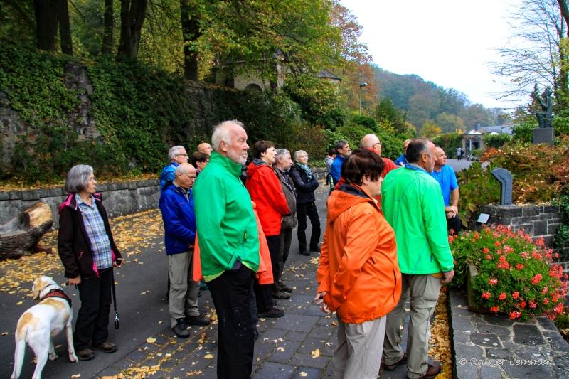 Donnerstags-Wandergruppe am Laacher See