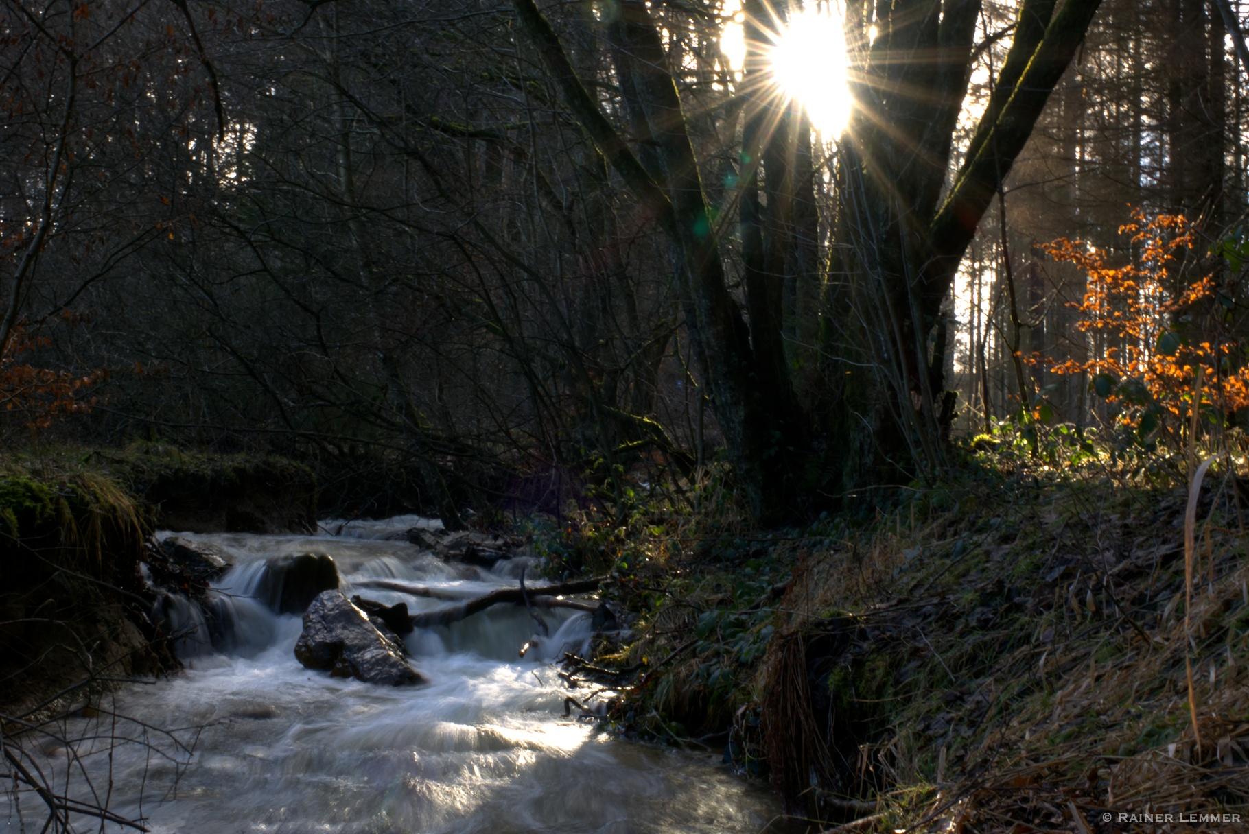 9 km Wanderung auf dem Wasser-Erlebnispfad