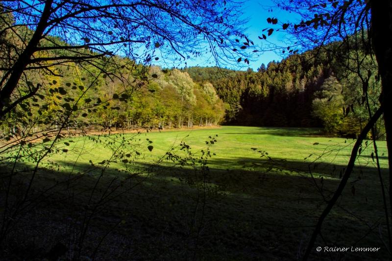 Blick ins Eisenbachtal