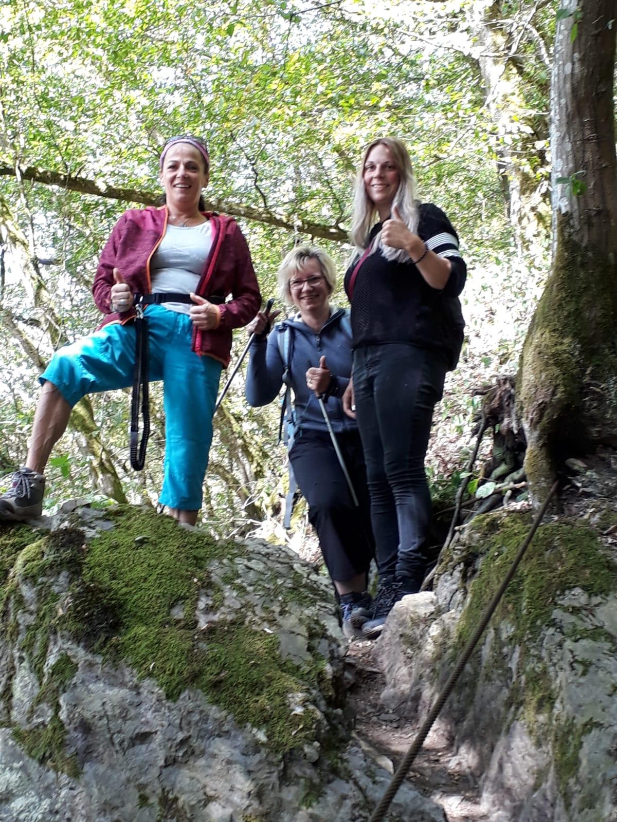 Wunderschöner Wanderweg bei bestem Wanderwetter erlebt Viele Grüße Conny, Michelle, Alexandra mit Markus und Thomas 07.07.2019 11:31 Uhr