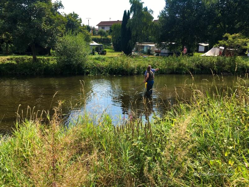 e-Befischung an der Nister