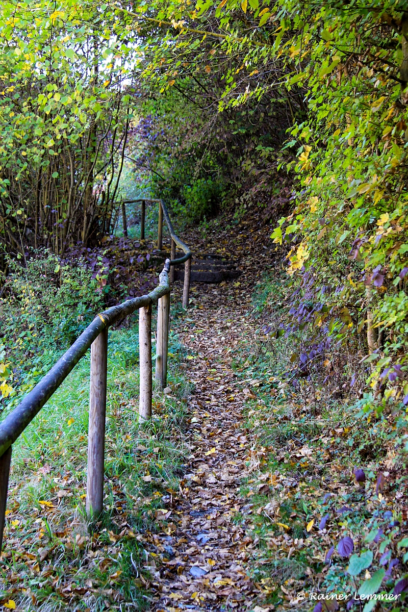 Weg zur Isenburg
