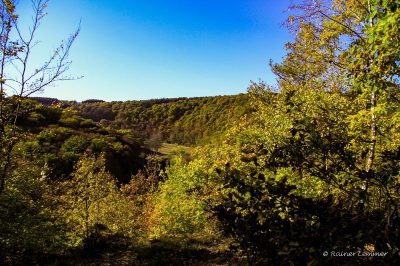 Blick ins Gelbachtal