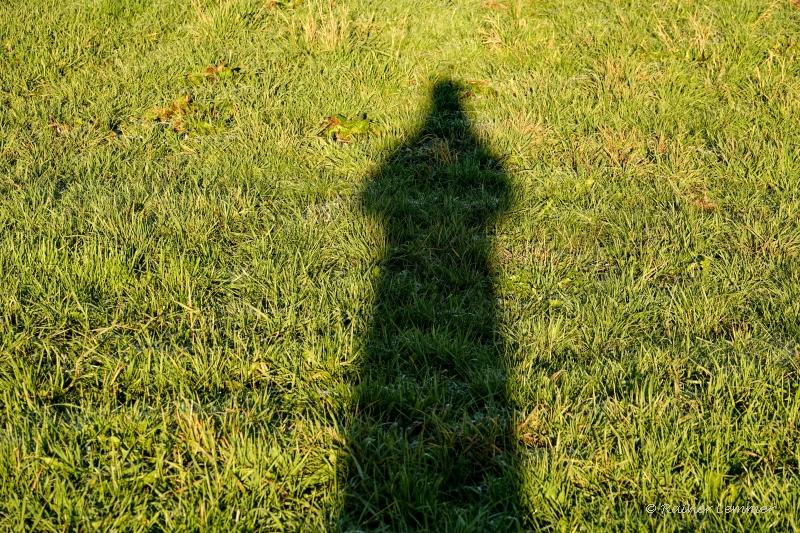 Selbstporträt mit Schatten