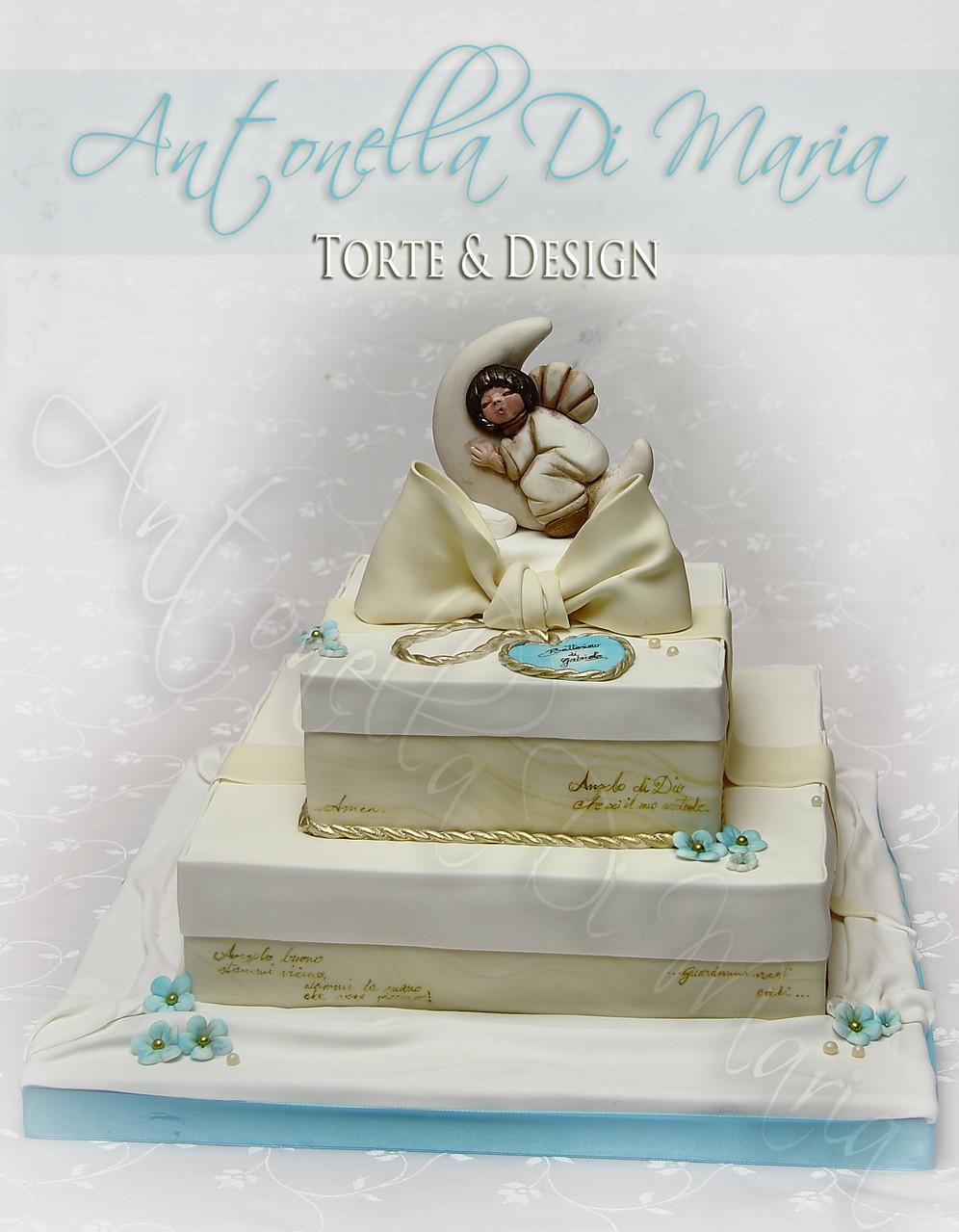 Comunioni & Cresime - Antonella Di Maria Torte & Design ...