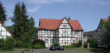 Das ehem. Jagdschloss und heutige Pfarrhaus