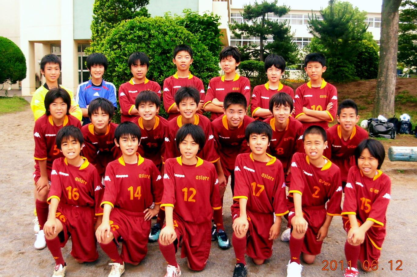 2011 U-13 第1期生