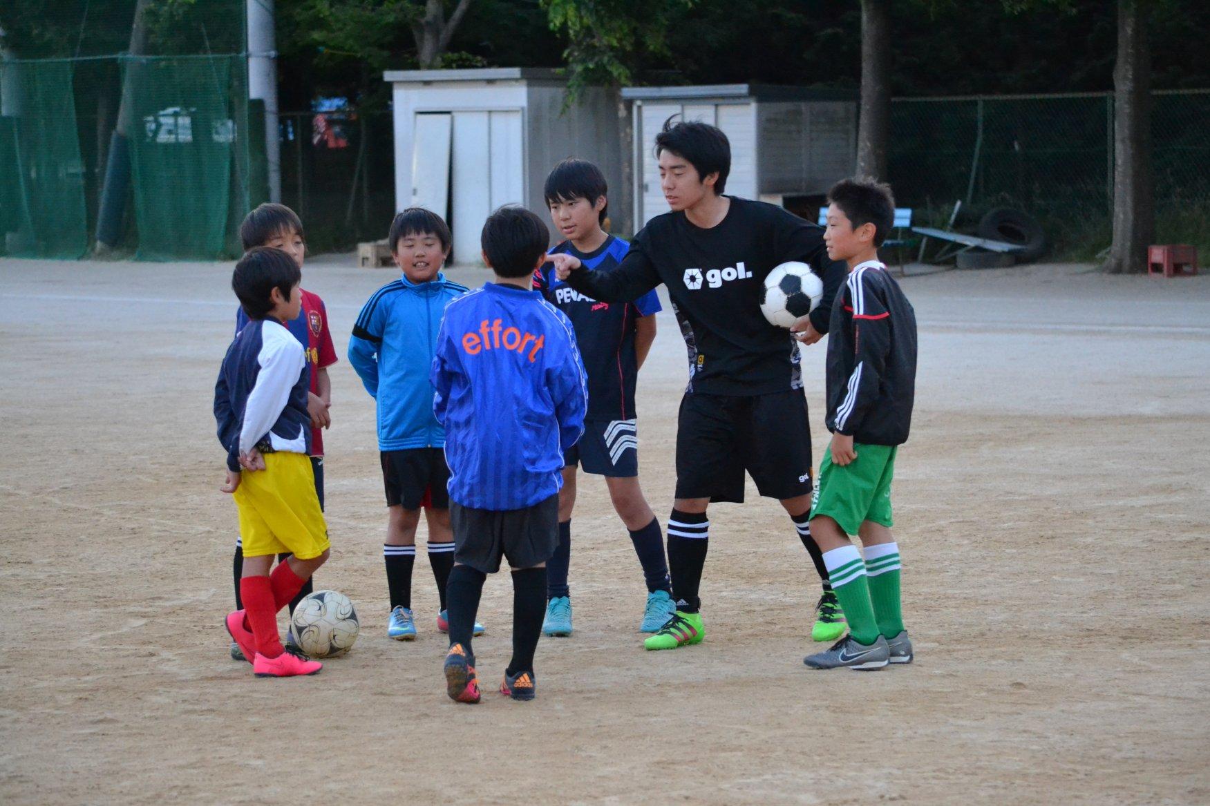 「GK &ストライカー練習会」   小学5年生 ~ 中学3年生