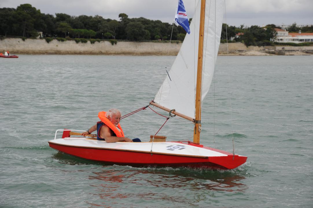 Moth Nantais en navigation à La Rochelle