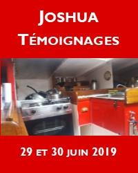 Un week-end à la rencontre de Joshua