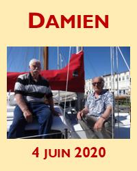 Damien va-t-il enfin renaviguer? Mais oui!