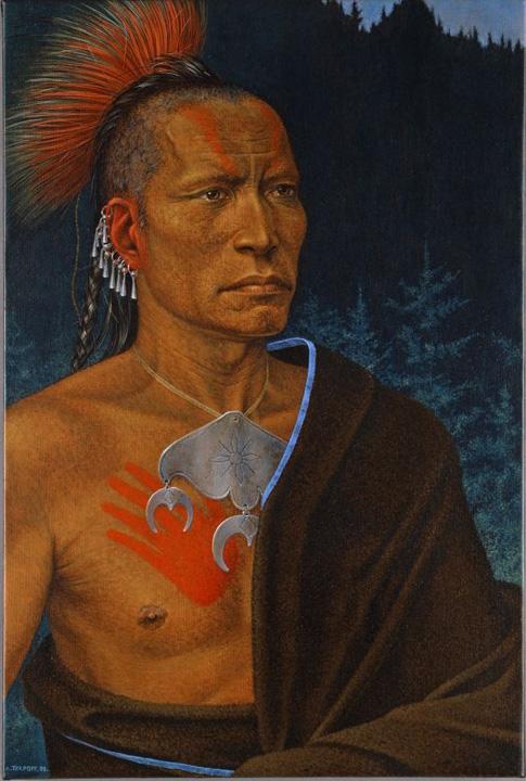 Antoine Tzapoff, le Déclin de l'Etoile du Matin, Pawnee 2008, collection particulière