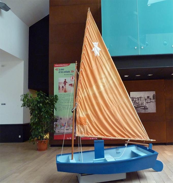 Le Farfadet Nelly au Musée Maritime de La Rochelle