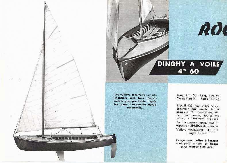 Documentation commerciale du Dinghy Rocca Dervin