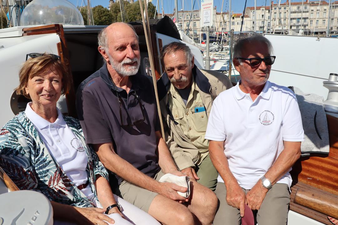 Marie, Gérard, Jérôme et Joël