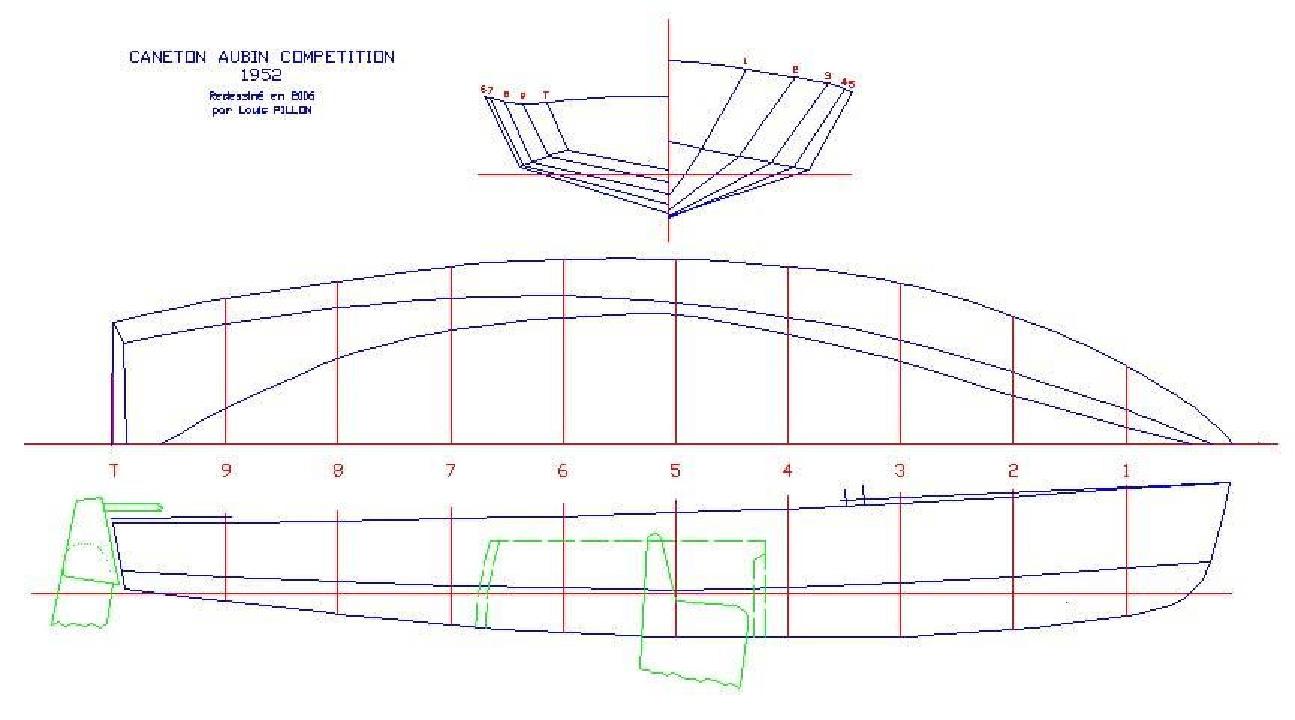 Plan du Caneton Aubin