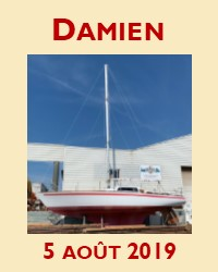 Enfin Damien est mâté!