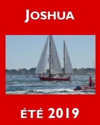 Joshua et ses belles navigations estivales