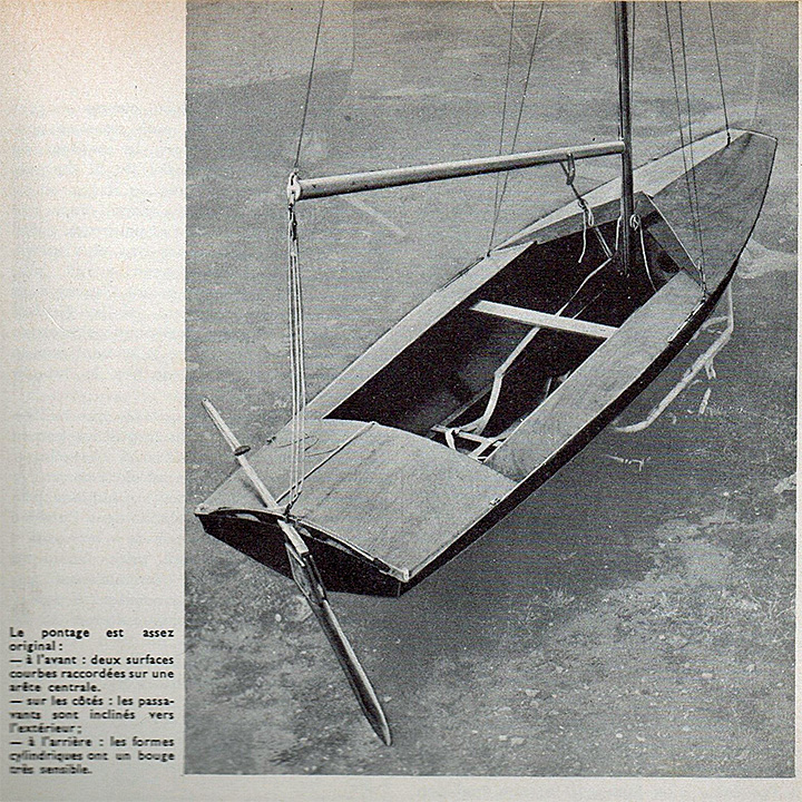 Fireball, extrait d'article de la Revue Bateaux 66 de novembre 1963