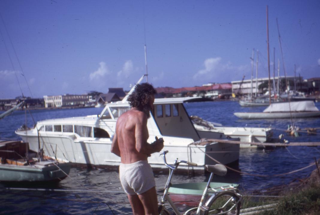 Bernard Moitessier le 21 juin 1969