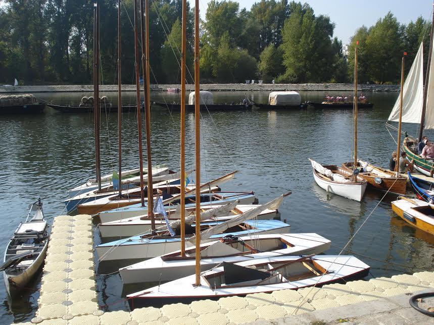 Sharpie 9m² en flottille