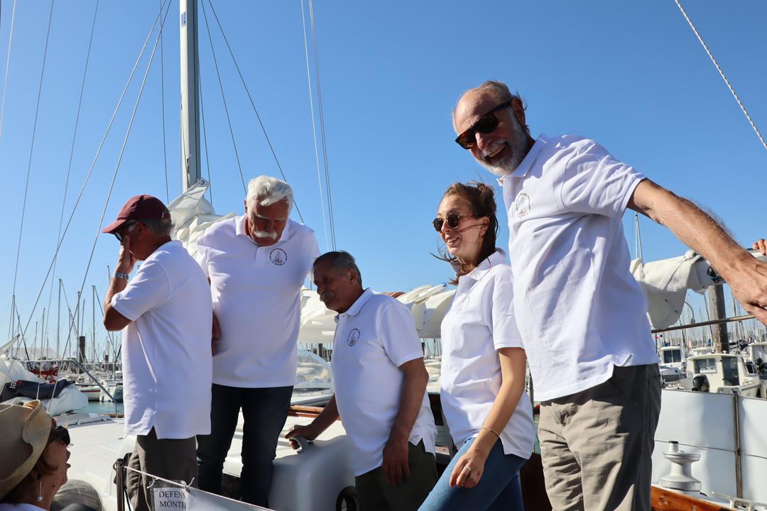 Joël, Dominique Cherbonnier, Jérôme, Lucie et Gérard