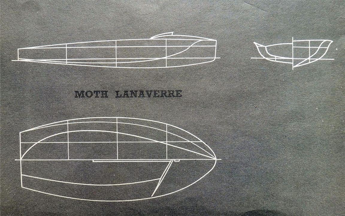 Dessin du Moth Lanaverre