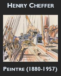 """Henry Cheffer """"peintre de la vie quotidienne en Bretagne"""""""
