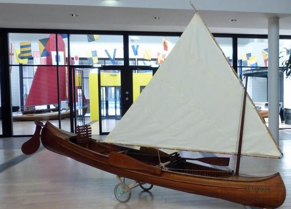 Canoë à voile Construction Albert Sadoux