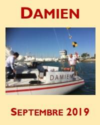 L'énorme succès du voilier Damien au Grand Pavois