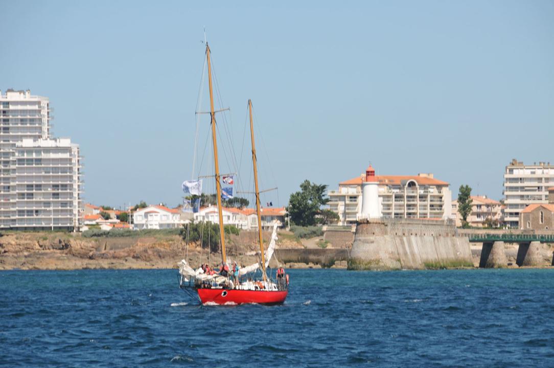 Une des nombreuses sorties en mer