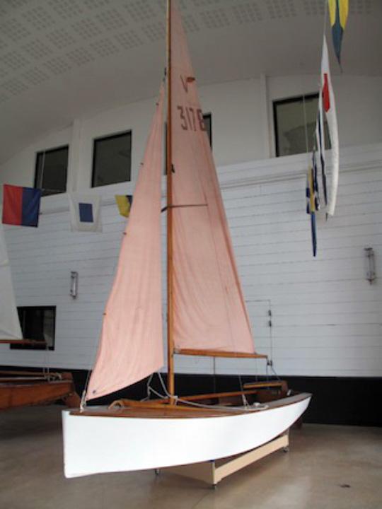 Le Vaurien Olé Moé au musée de La Rochelle