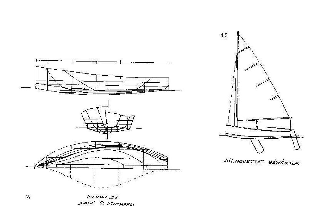 Plan du Moth Staempfli (Source G.P. Thierry)