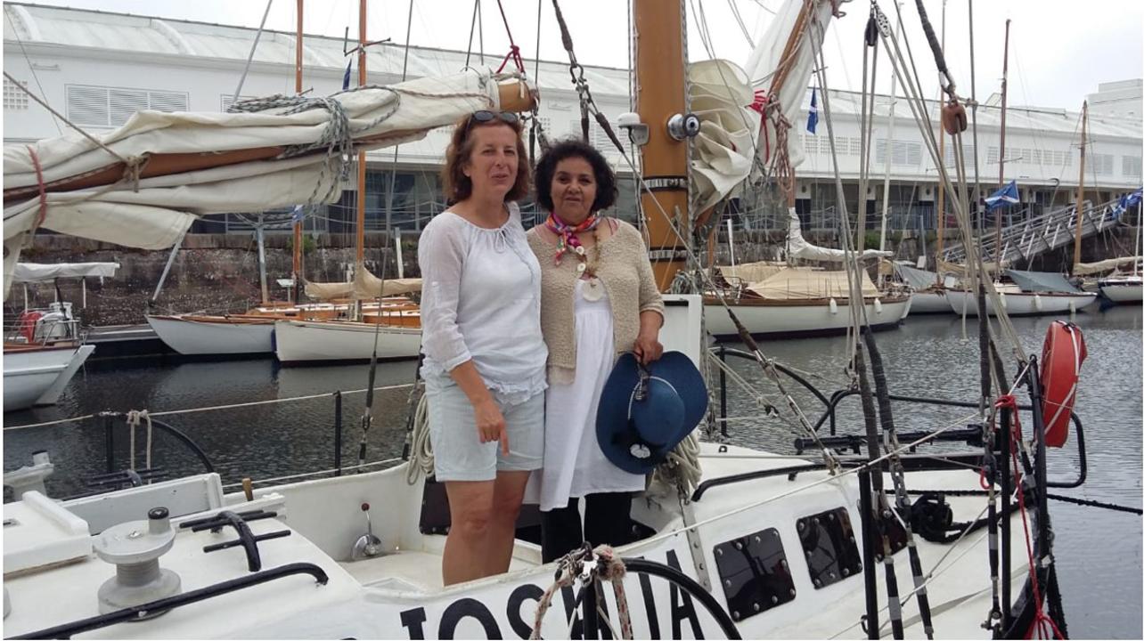 Sylvie et Aïcha