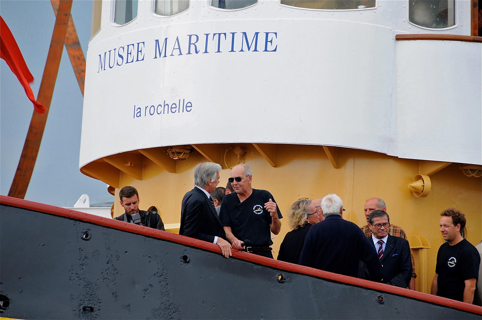 2009, le musée fête la remise à l'eau du remorqueur Saint-Gilles