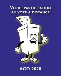 Participation aux votes de l'AG 2020 à distance
