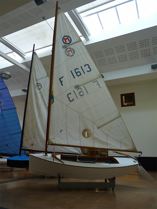 Le Moth Staempfli au Musée Maritime de La Rochelle
