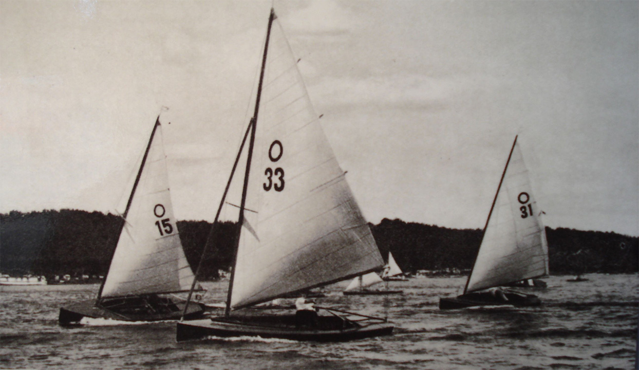 Jeux Olympiques de Kiel en 1936 (Source : musée des sports de Berlin)