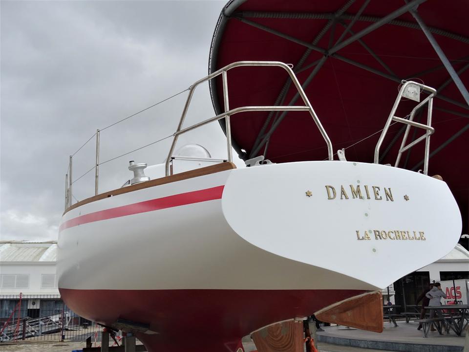 Damien en exposition au Musée Maritime 23 mars 2019