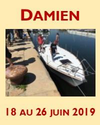 Mise à l'eau technique de Damien