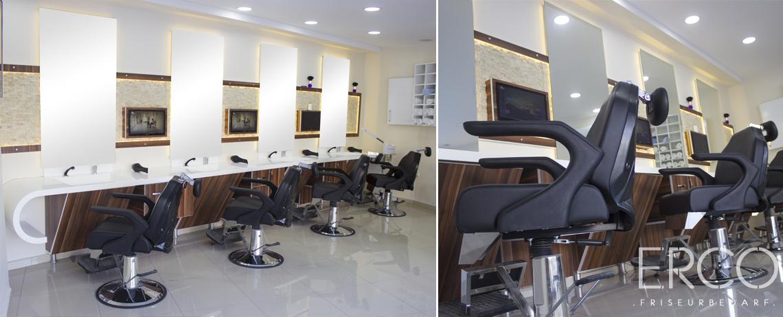 Friseur Möbel und Ausstattung