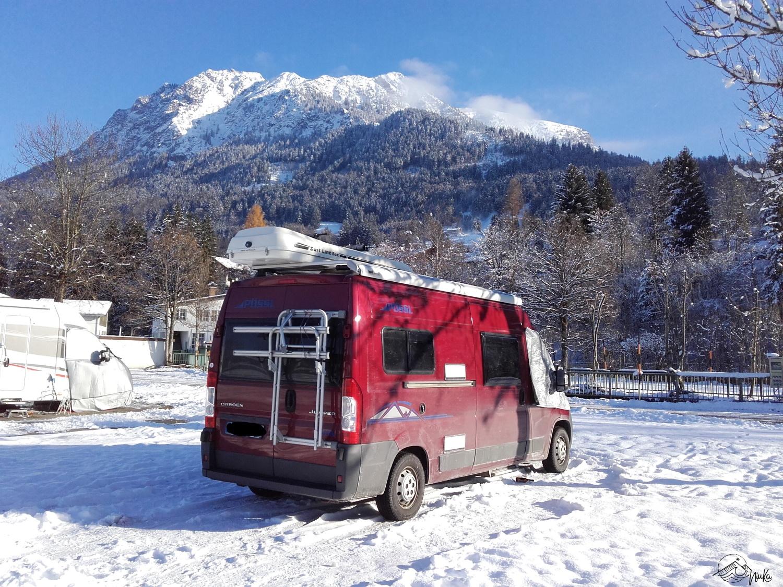 Wintercamping - Vanlife Winter