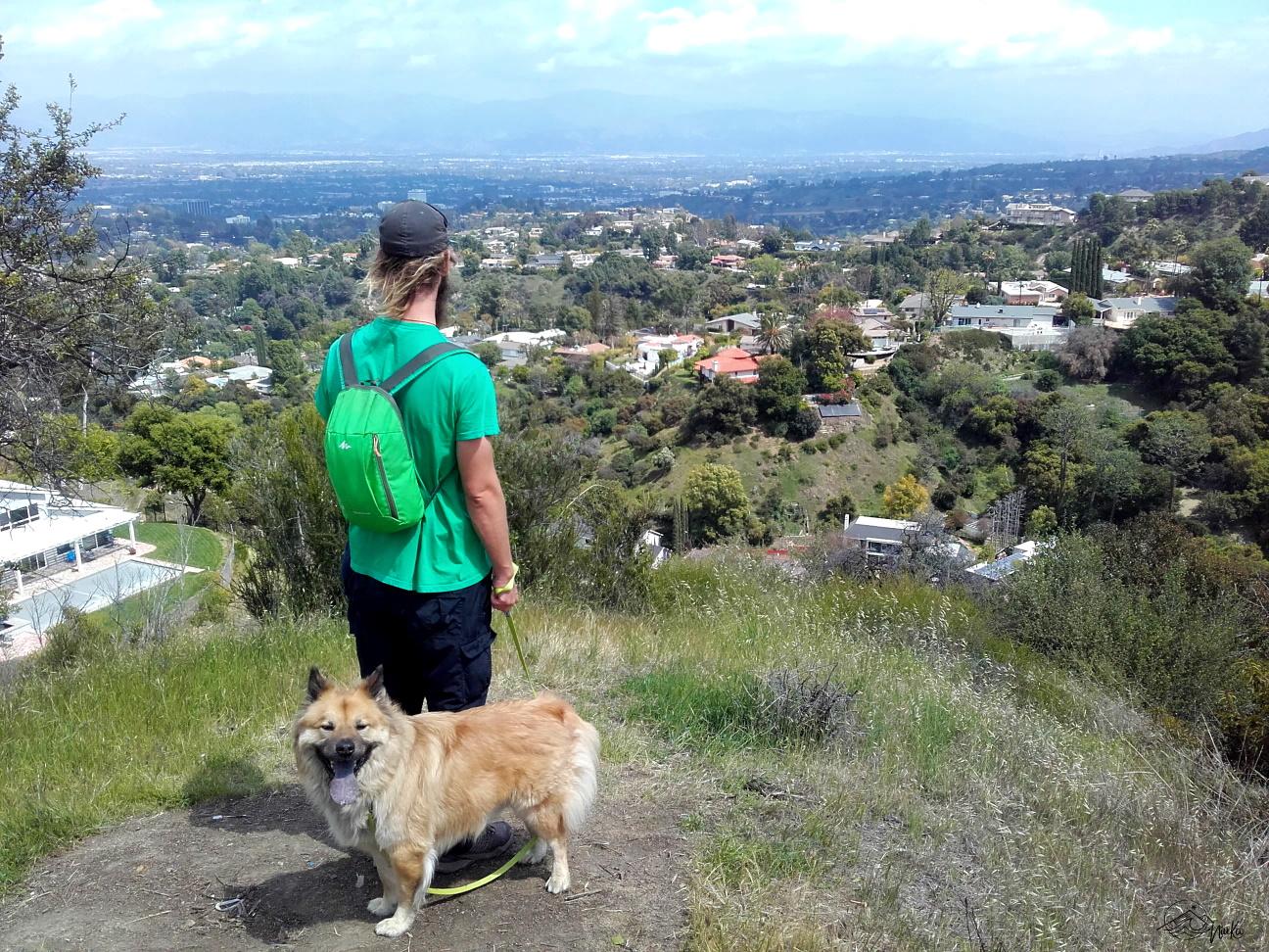 Blick auf das San Fernando Valley