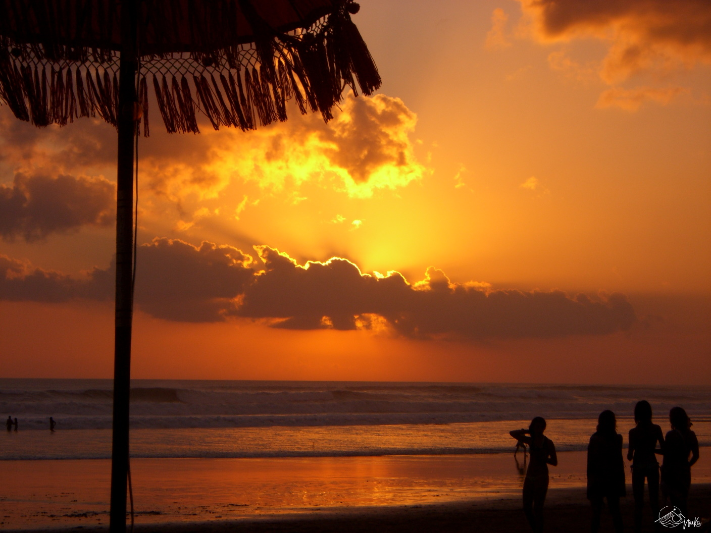 Sunset at Kuta