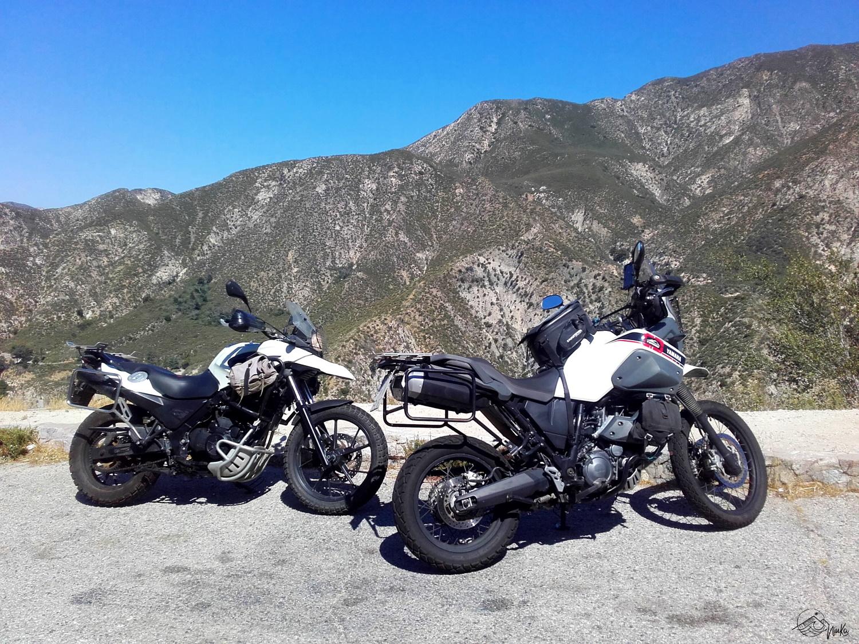 Motorradtour durch den Los Angeles National Forest