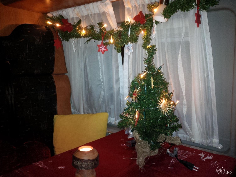 Wintercamping - Weihnachtsdekoration