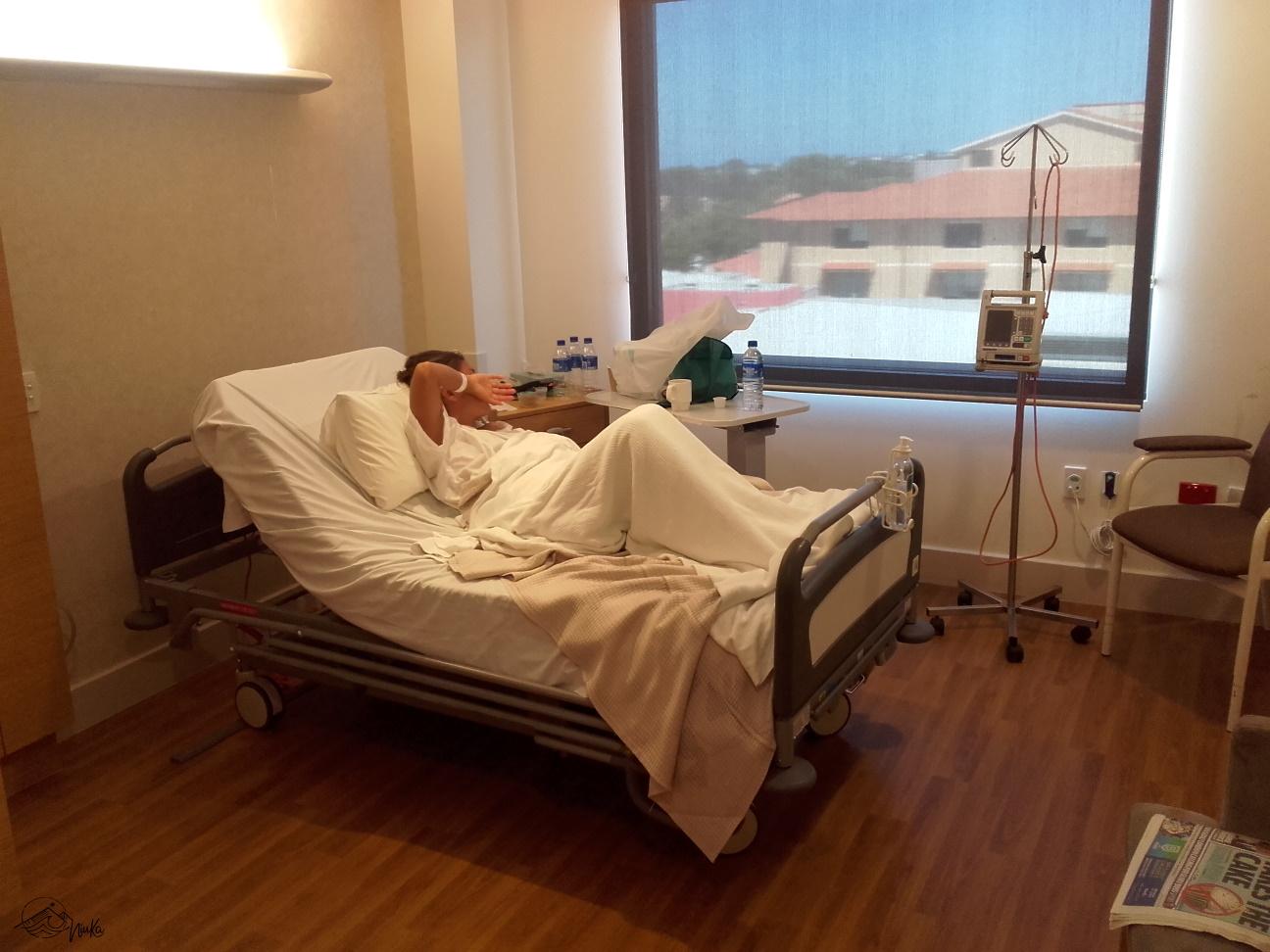 Krankenhaus statt Kitesurfen
