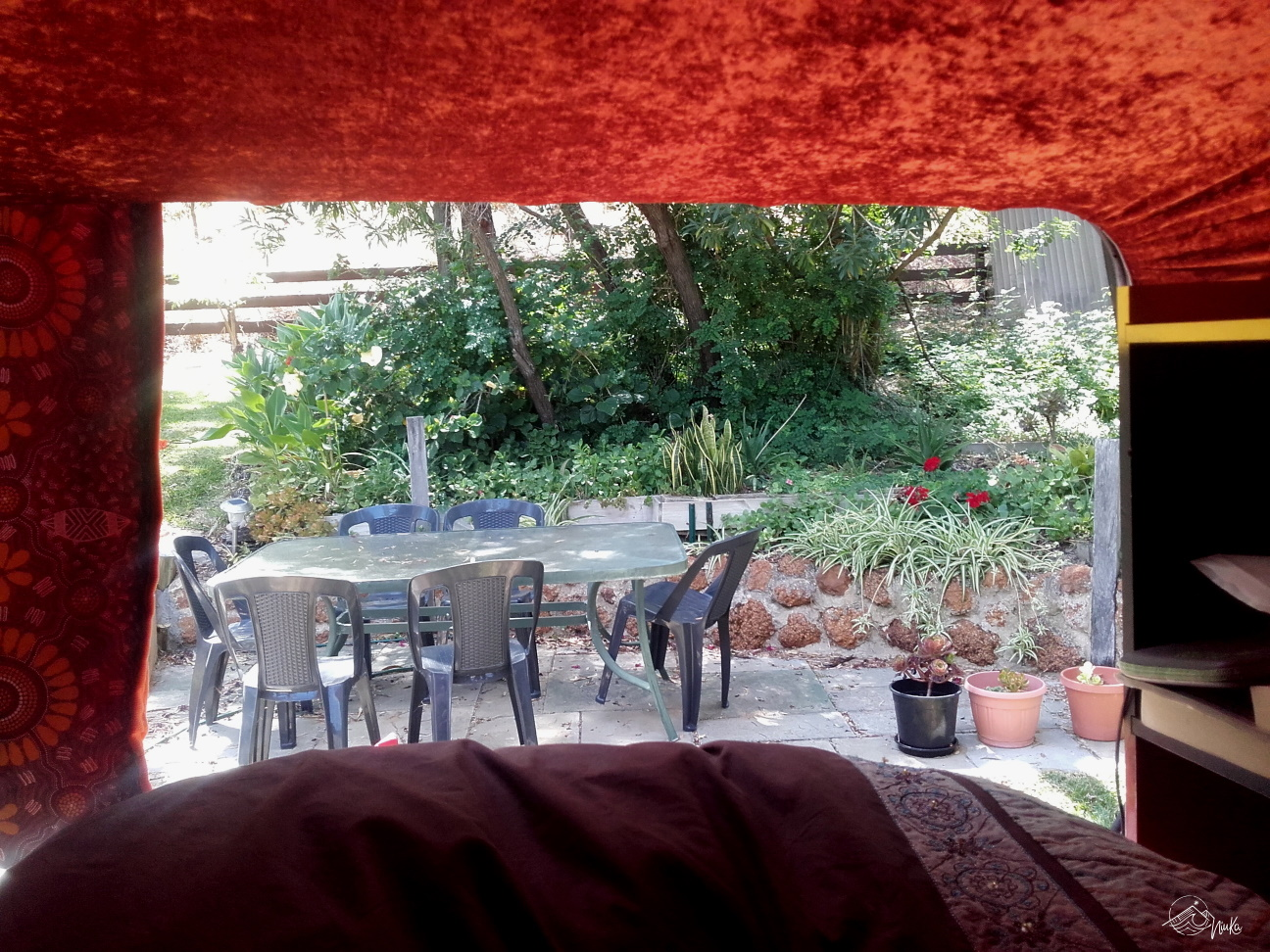 "Blick in ""unseren"" Garten"